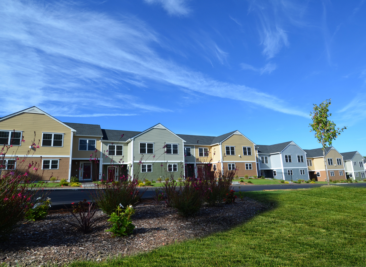 Exterior Photo of Parkside at Ames Nowell Apartment Complex in Brockton, MA